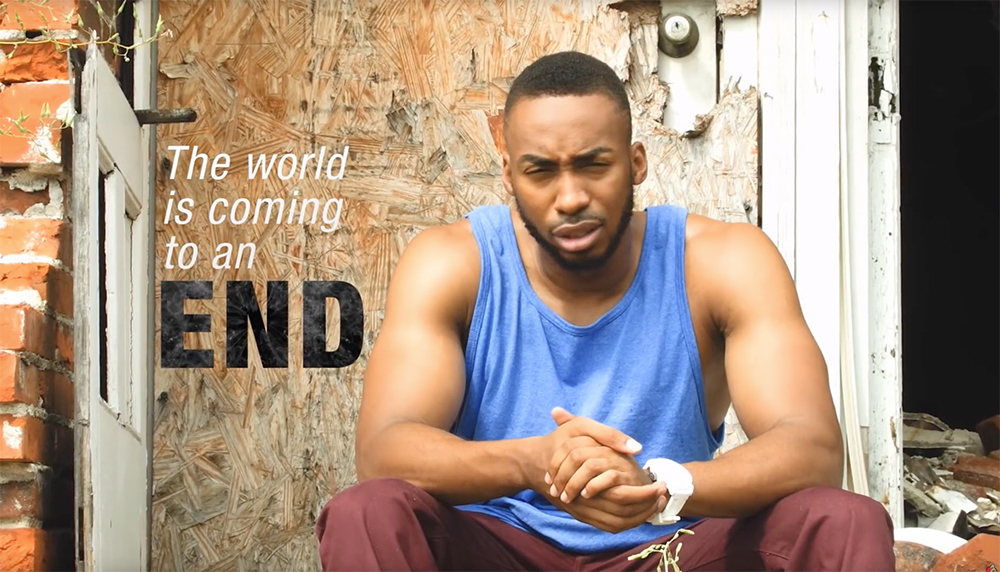 film by Prince EA called 'Why I think this world should end'